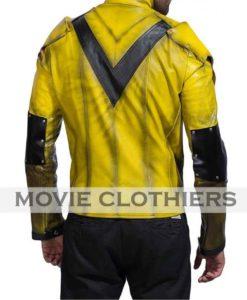 reverse flash motorcycle jacket