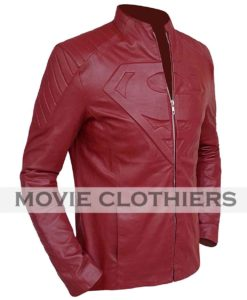 smallville season 10 superman leather jacket for sale