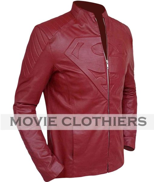 smallville season 10 superman leather jacket for sale