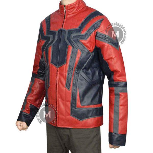 Peter Parker Tom Holland Spiderman Jacket