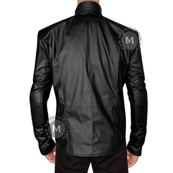 Batman faux leather jacket