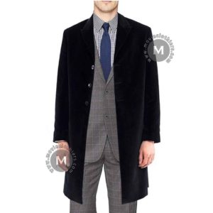 black twelfth doctor coat jacket