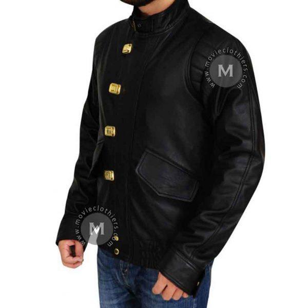 black akira bomber jacket