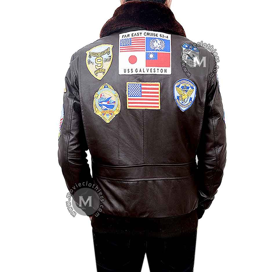Tom Cruise Maverick Top Gun Leather Jacket