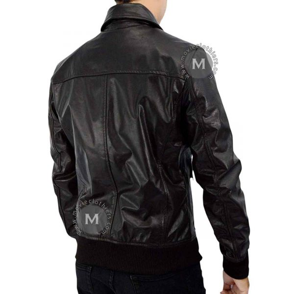 Abduction leather jacket