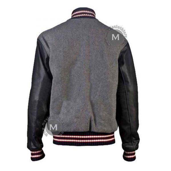 Andrew Garfield Wool Varsity Jacket
