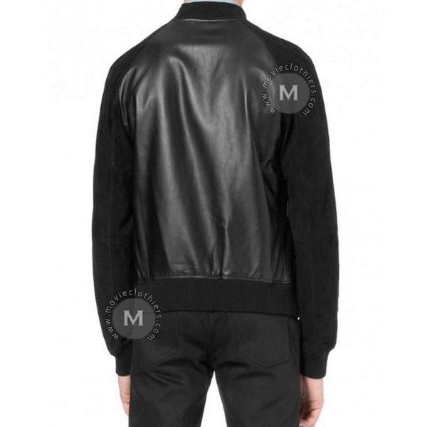 Black Andrew Garfield jacket