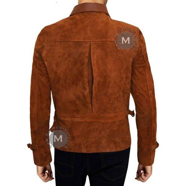 Brad Pitt Suede Jacket