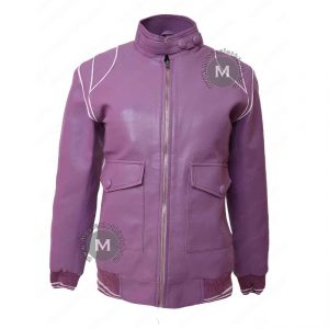 Ruth Wilder Glow Purple Jacket