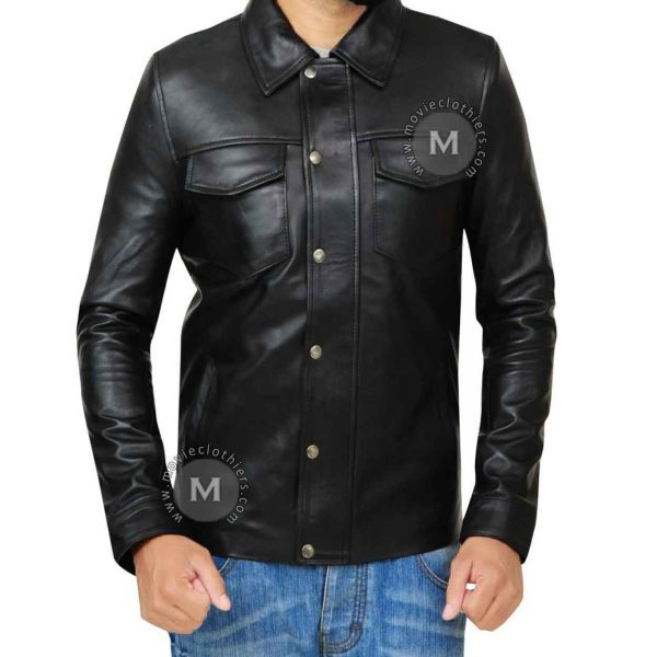 adam lambert leather jacket