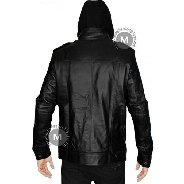 aj leather jacket