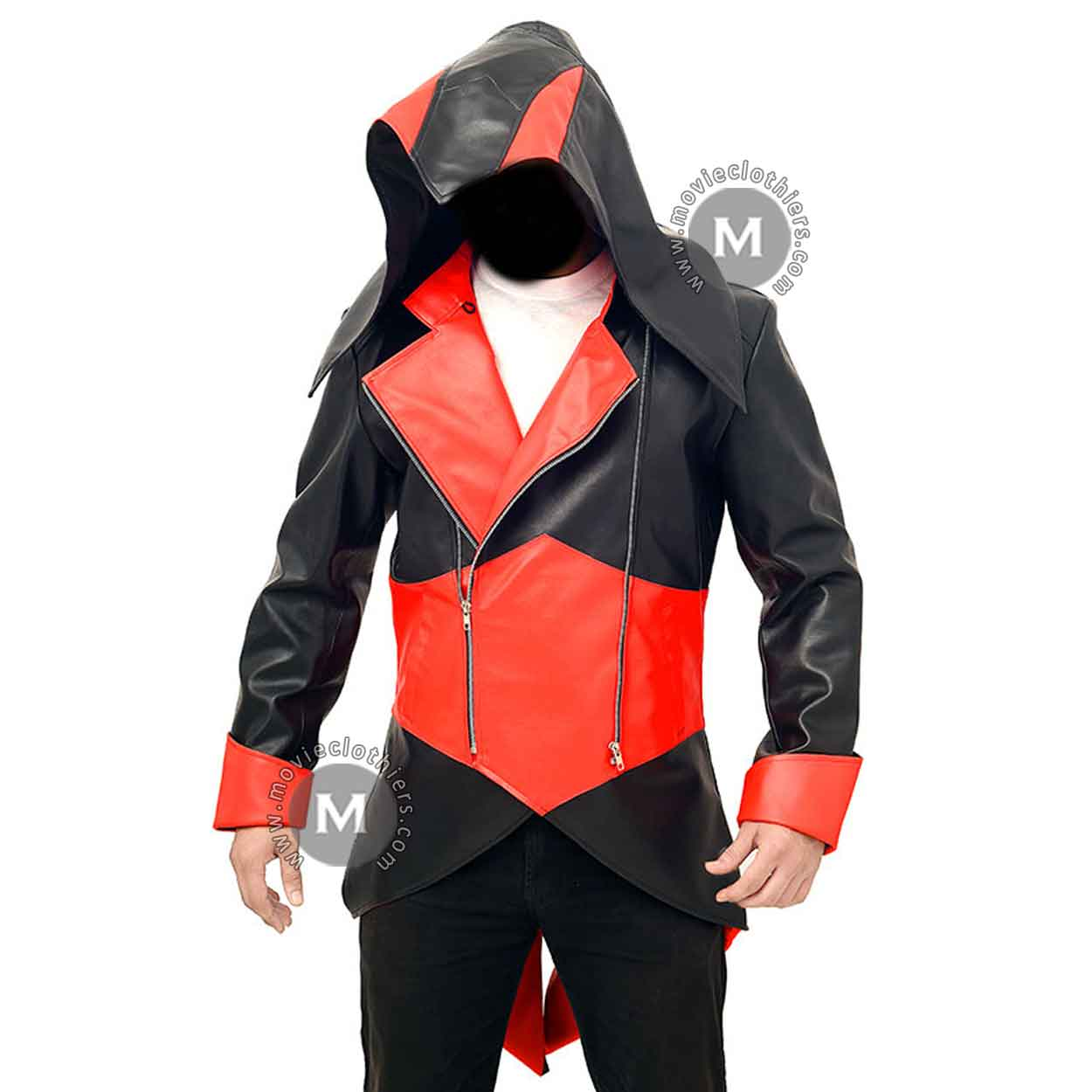Assassin S Creed Leather Jacket Hoodie Only In 109