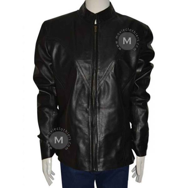 avengers black widow jacket