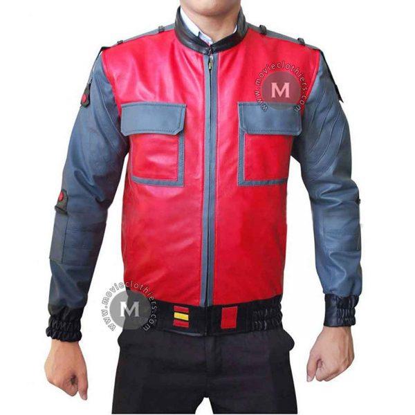 marty mcfly leather jacket