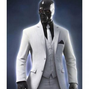 Birds of Prey White Blazer Suit