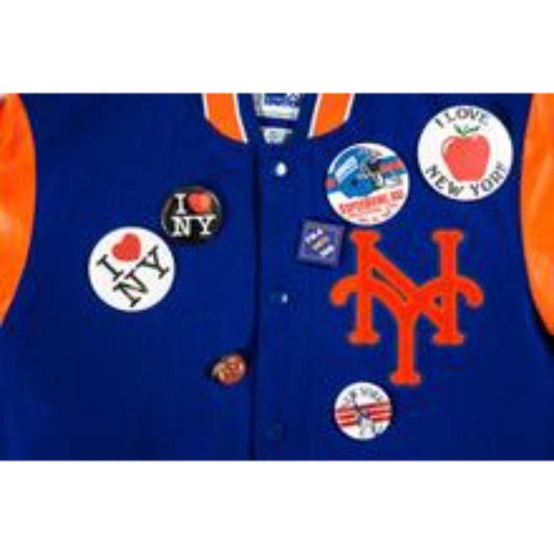 "Packer X Starter ""Coming to America"" New York Mets Jacket"
