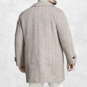 Knives Out Daniel Craig Grey Coat