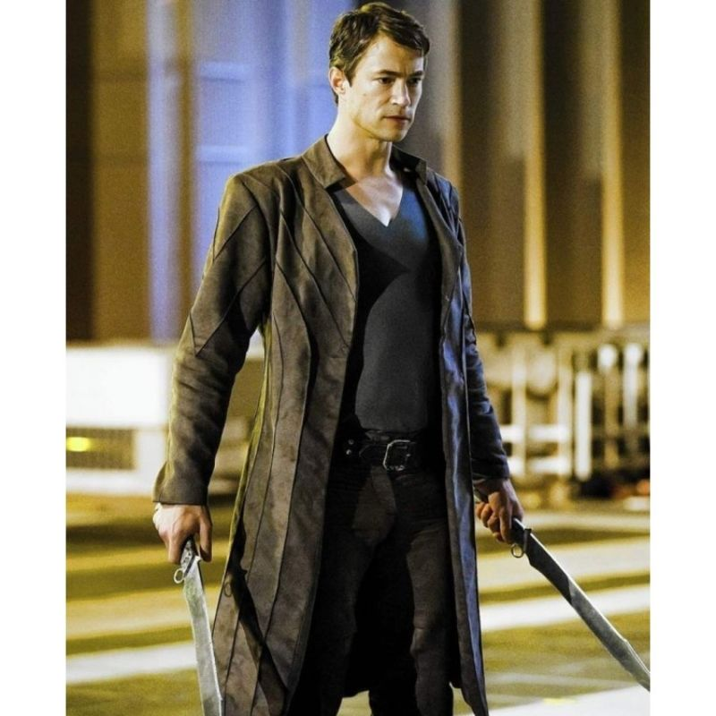 Tom Wisdom Dominion Coat