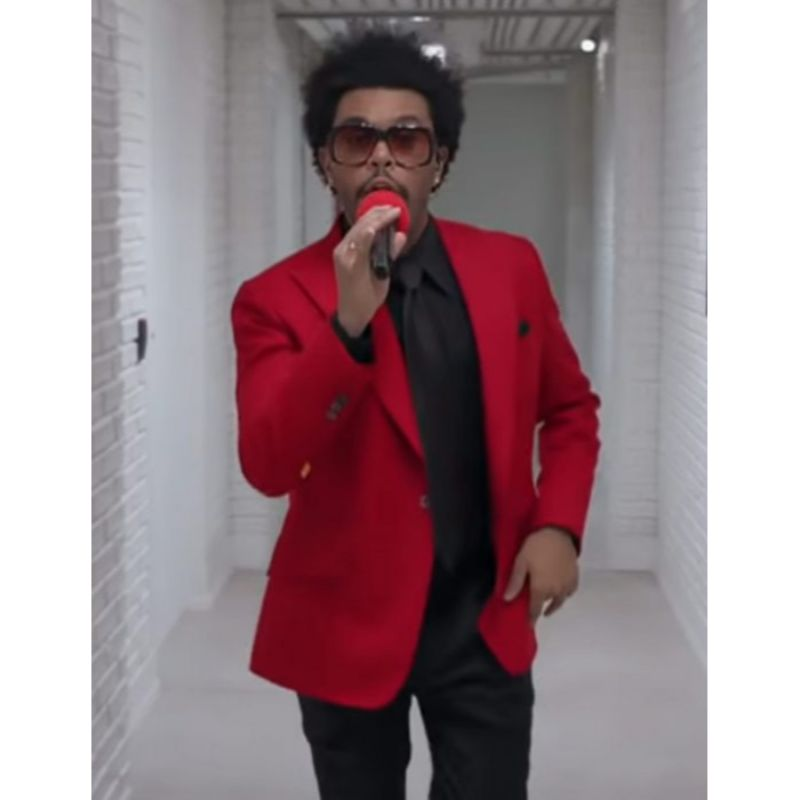 The Weeknd Blinding Lights Coat