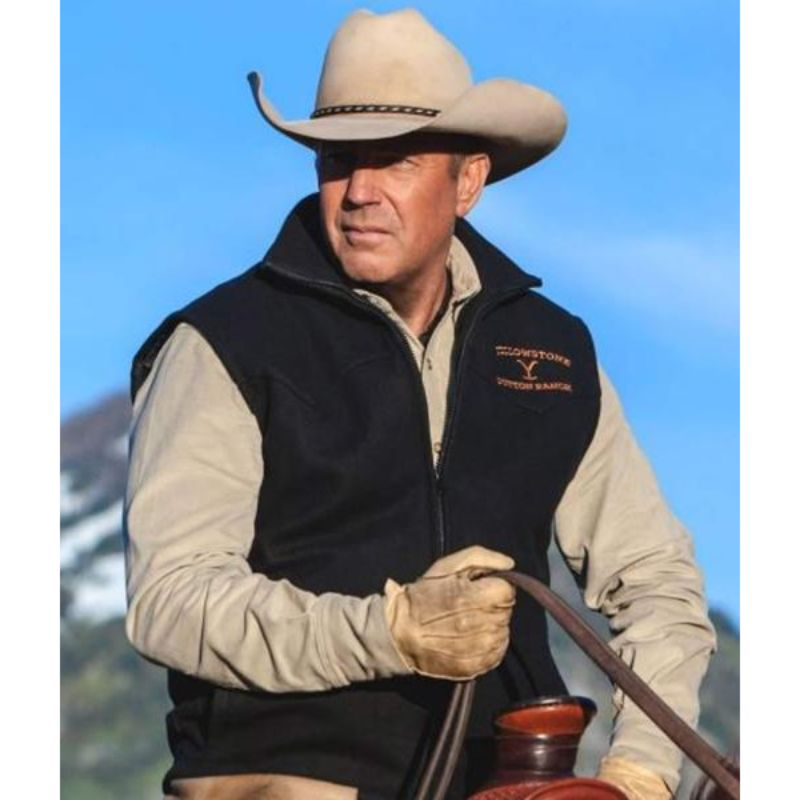 Yellowstone John Dutton Black Vest