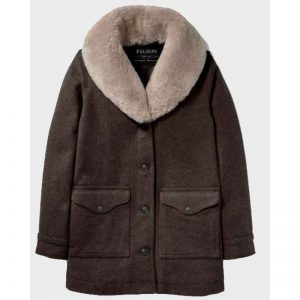 Kelly Reilly Beth Dutton Yellowstone Shearling Coat
