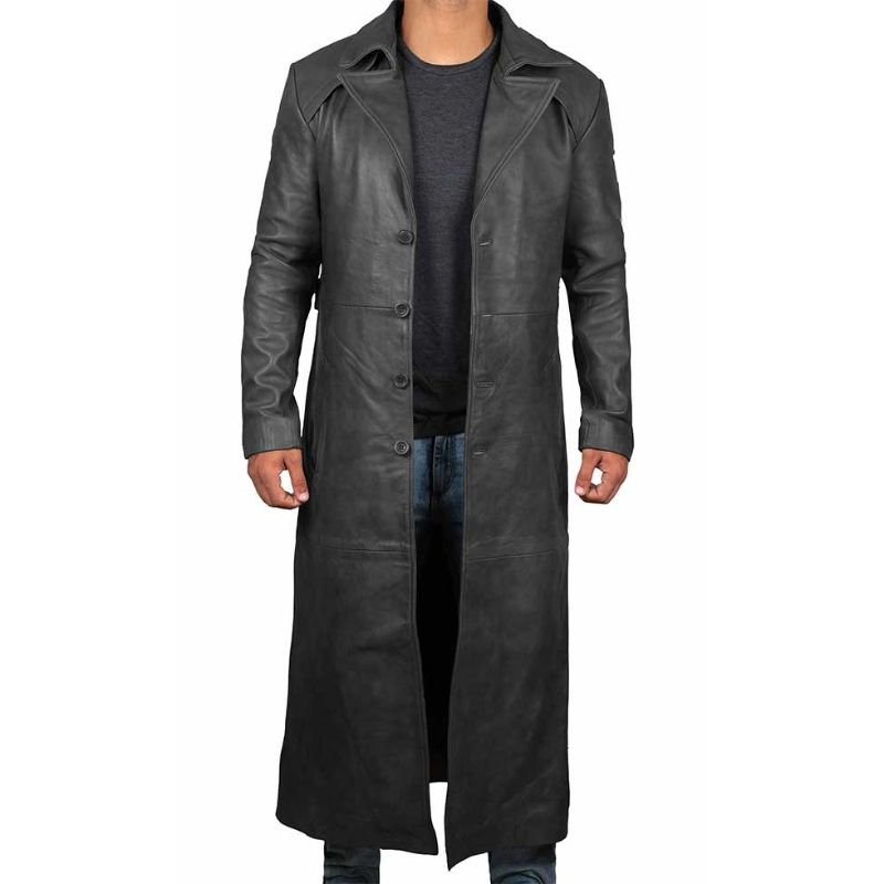 Mens Sheepskin Jacket | Custom Shearling CoatThe Sheepherder